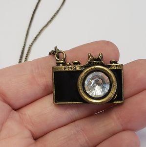 Unique Vintage Mini Camera Necklace
